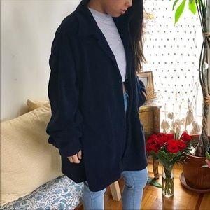 FENDI Navy Fleece Jacket